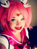 Sailor Chibi Moon by RocketSparklegirl