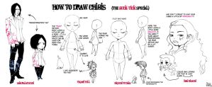 How To Draw Chibis by Tacaret