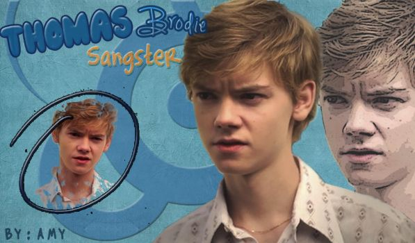 Thomas Sangster Wallpaper by amychoppsticks