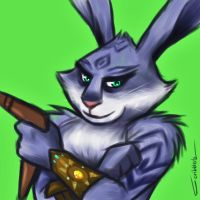 I'm a bunny, mate... by Scribblerb