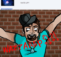 Ask Herobrine and Steve, comic 2. by TheDovahBrine