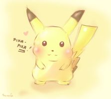 Pika pika~ by CunningScarecrow
