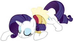 Bowing Rarity Vector by Adiwan