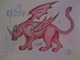 Ketzer, Demon Panther COLOR by NekrozDeLaMorte