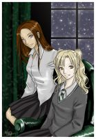 Torey and Cathy for Lilya by funny-neko