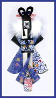 Japanese Doll - Blue by Chablina