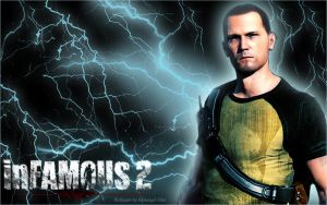 InFamous 2 Cole Wallpaper by Archangel-Siha