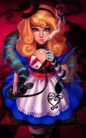 ALICE IN BADASSLAND by LidTheSquid