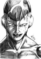 Frieza in final form by RafaConte