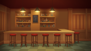 Bar - Background Art by zeedox