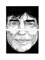 Mick Jagger by dfmurcia