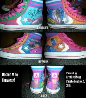 Doctor Who Converse by ArchitectSong