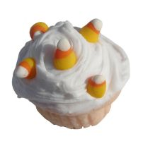 candy corn cupcake by MotherMayIjewelry