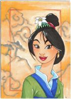 Mulan-Art card by Faerytale-Wings