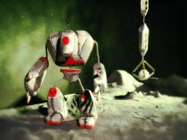 Robot Puppets by baronvonfogel