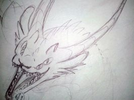 Hybrid Sketch 1/3 by TemporalEchoes