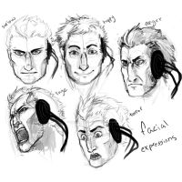 Character facial Expressions by o0Syringes0o