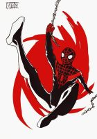 Miles Morales Ultimate Spider Man by LazyFOOL777