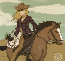 Wild Wild West ::ShikaTema:: by LalaMoped