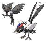 Magpie Pokemon by JoshKH92