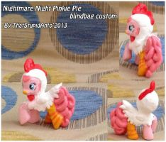 Chicken Pinkie Pie blind bag custom by Antych