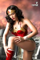 SuperHeroine Day Wonderwoman by cosplayerotica