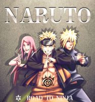 naruto 009 by ZhangDing