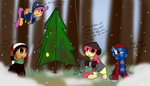 CMC- Christmas in Ponyville by FullMetalPikmin