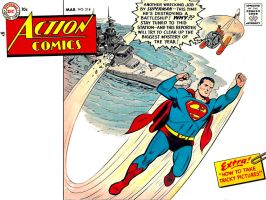 Action Comics 214 by Superman8193