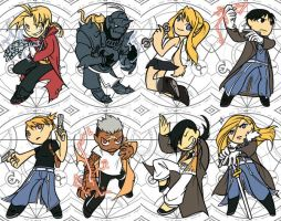 FMA - Convention Tags by thekeet