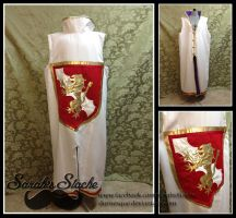 Lannister Inspired Surcoat by Durnesque