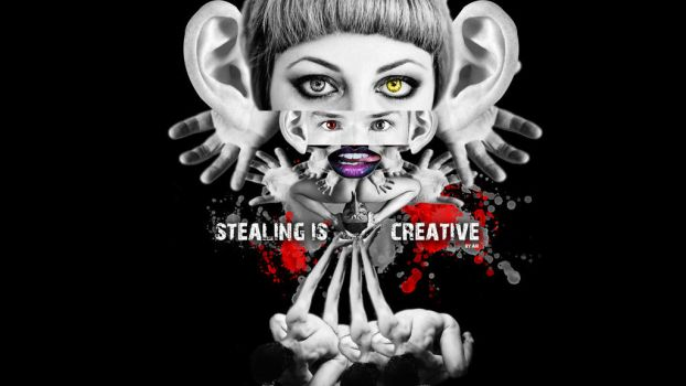 Stealing Is Creative by AirDesing