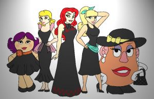 The Ladies of Toy Story by K-Lynn99