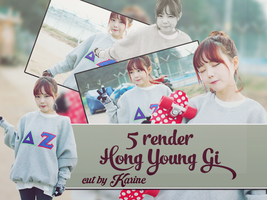 [PackRender]#2- 5RenderHongYoungGi[HQ]-CutByKarine by karinecucheoo