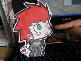 Axel paperchild by DeidaraGS