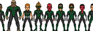 The Green Lantern Corps by Alexander514
