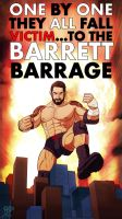 Wade Barrett +King Barrett+ by leomon32