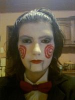 Billy the puppet Halloween no. 1 by biohazard-no-1