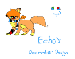 Echo December Design by Caution-Koneko