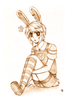 Little Rabbit by Shibaki-kun