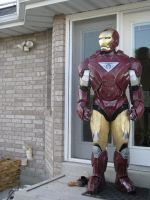 iron man outside by TIMECON