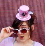 Tiny Top Hat: Pink Poodle Skirt by TinyTopHats