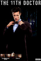 11th Doctor - 50th Anniversary Poster by feel-inspired