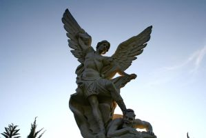 The Archangel Michael Rise by thenoviceone