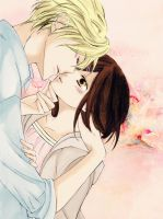 Tamaki + Haruhi : Kiss for You by angel-cesia