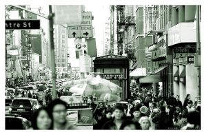 China, NYC by Sonikblue