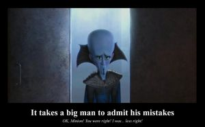 Megamind Poster - Mistakes by LindeRock