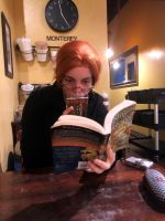 In Which Morwen Reads a Book by theBESTwispCosplay