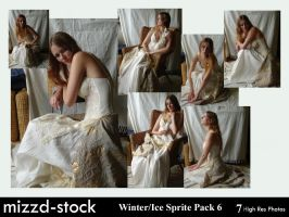 Winter+Ice Sprite Pack 6 by mizzd-stock