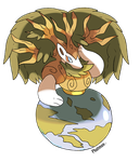 Pokemon Natural Legendary Gaia by Phatmon